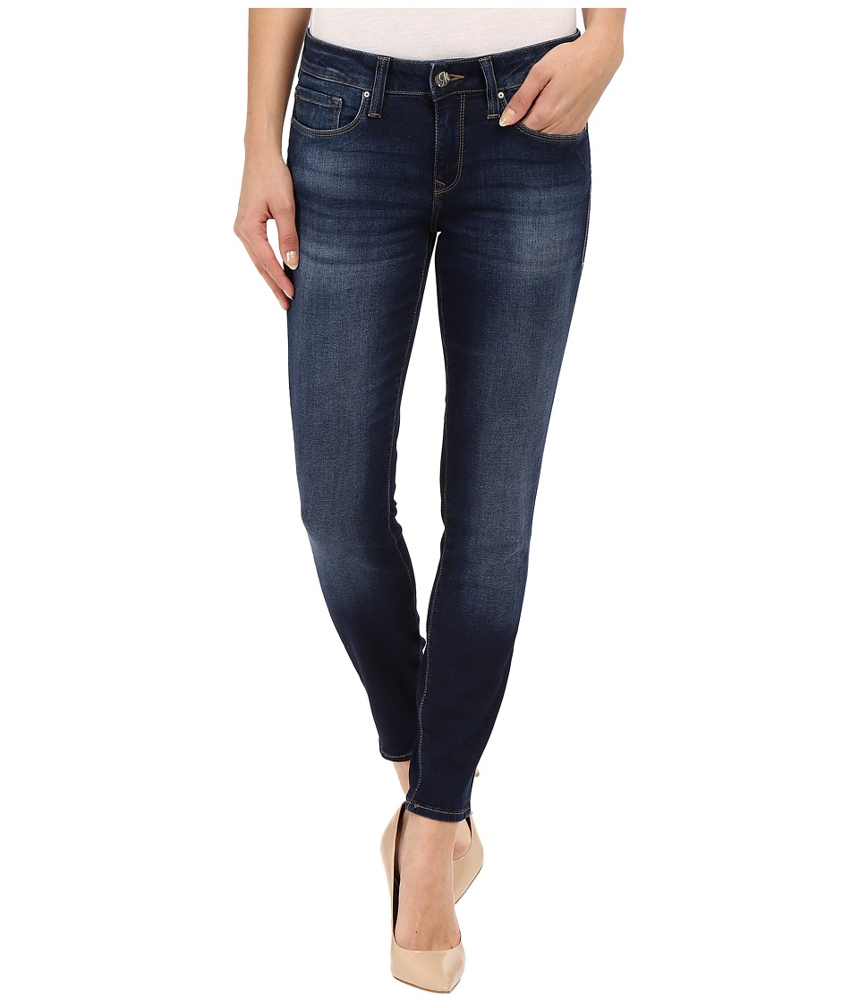 Mavi Jeans - Alexa Mid-Rise Skinny Ankle Jeans in Dark Brush Shanti (Dark Brush Shanti) Women's Jeans