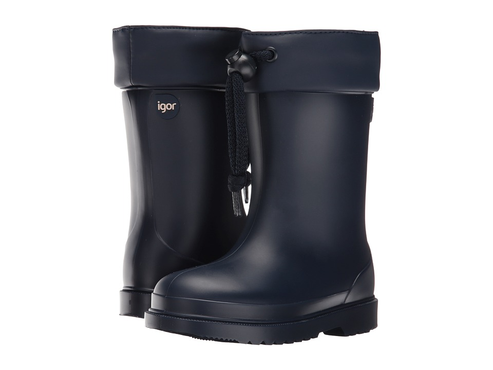 Igor - W10100 (Toddler/Little Kid) (Navy) Girl's Shoes