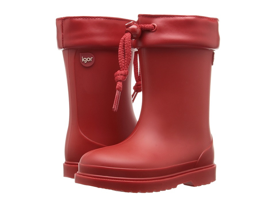 Igor - W10100 (Toddler/Little Kid) (Red) Girl's Shoes