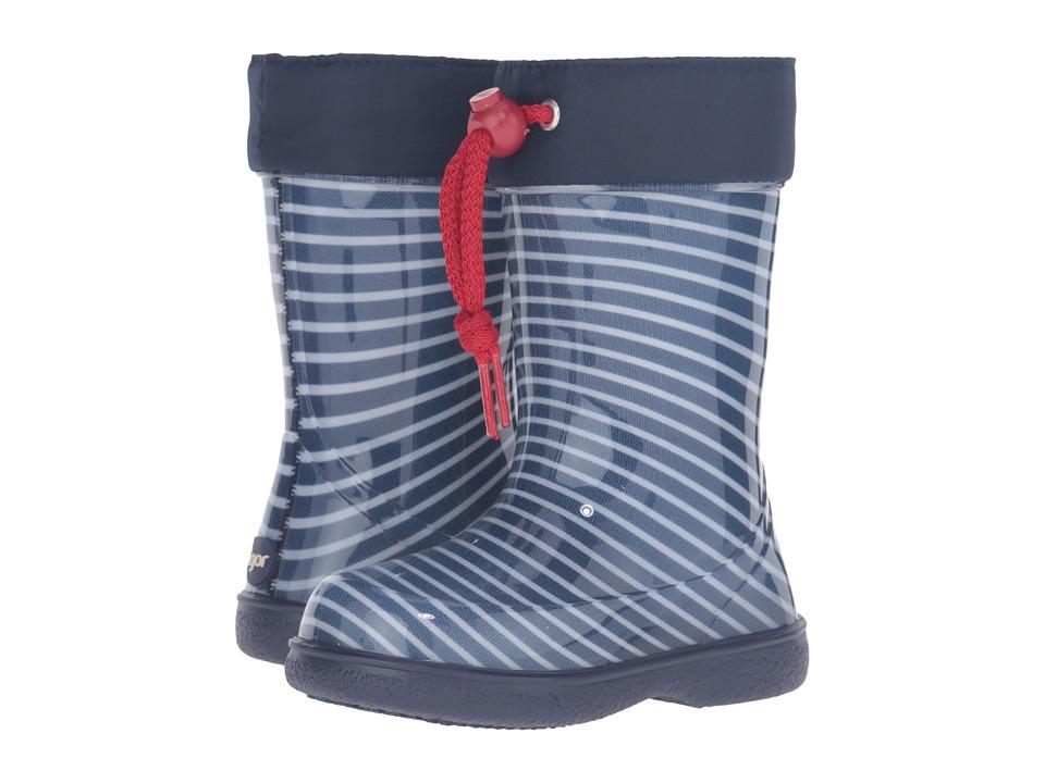 Igor - W10144 (Toddler/Little Kid) (Navy) Girl's Shoes