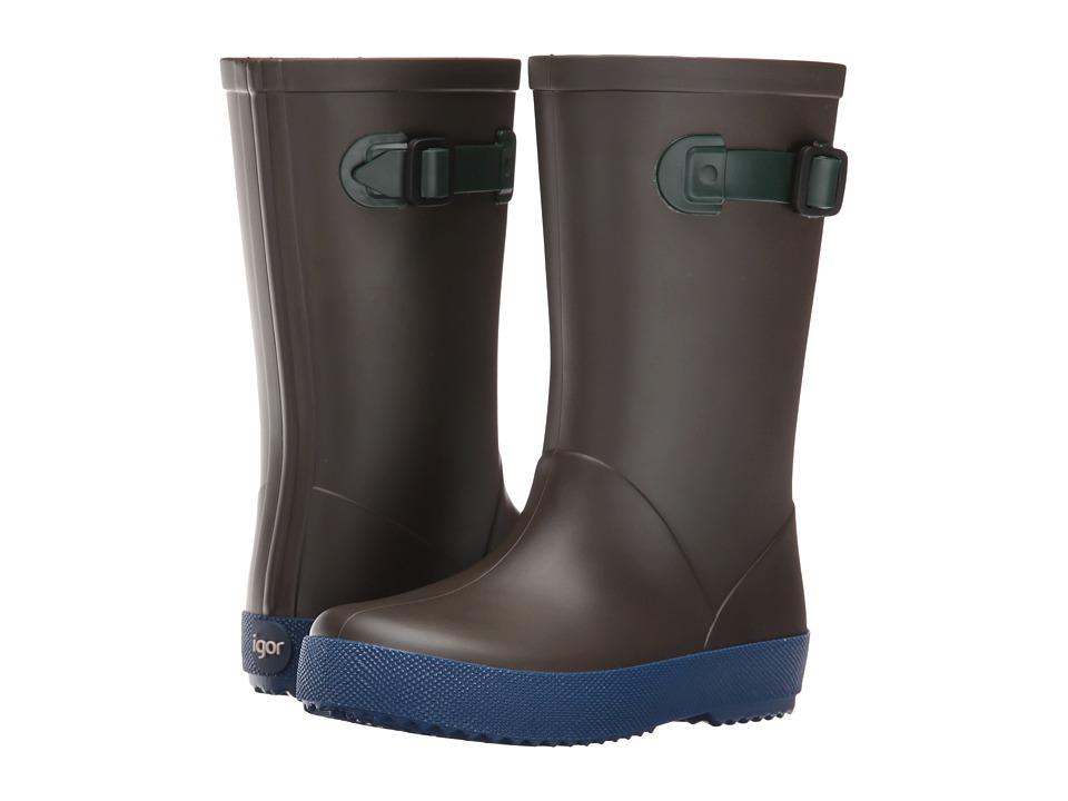Igor - W10113 (Toddler/Little Kid/Big Kid) (Brown) Girl's Shoes