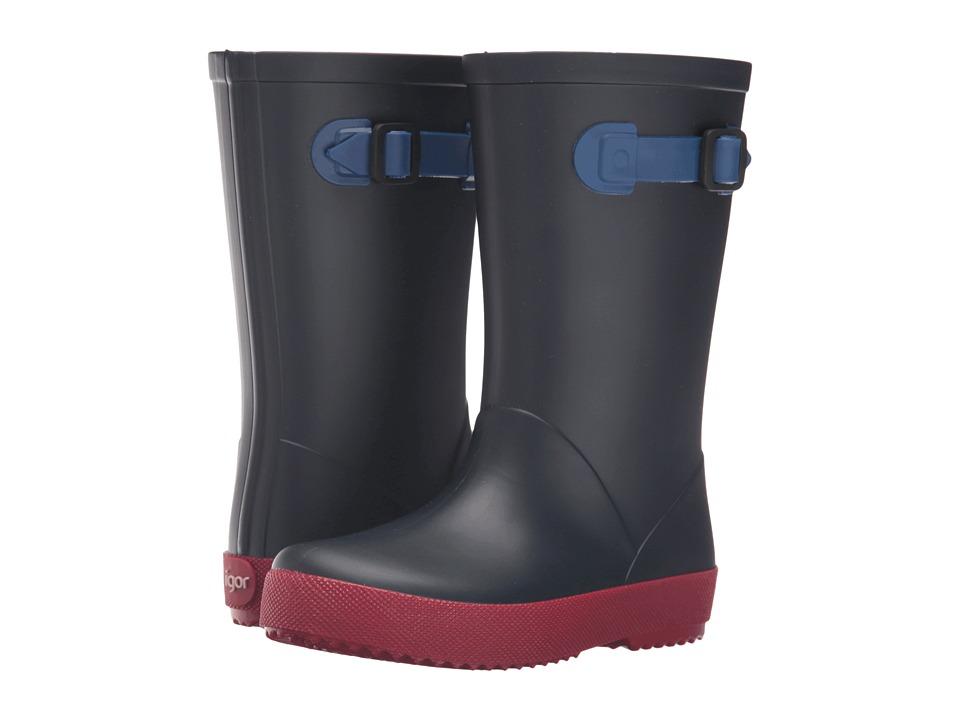 Igor - W10113 (Toddler/Little Kid/Big Kid) (Navy) Girl's Shoes
