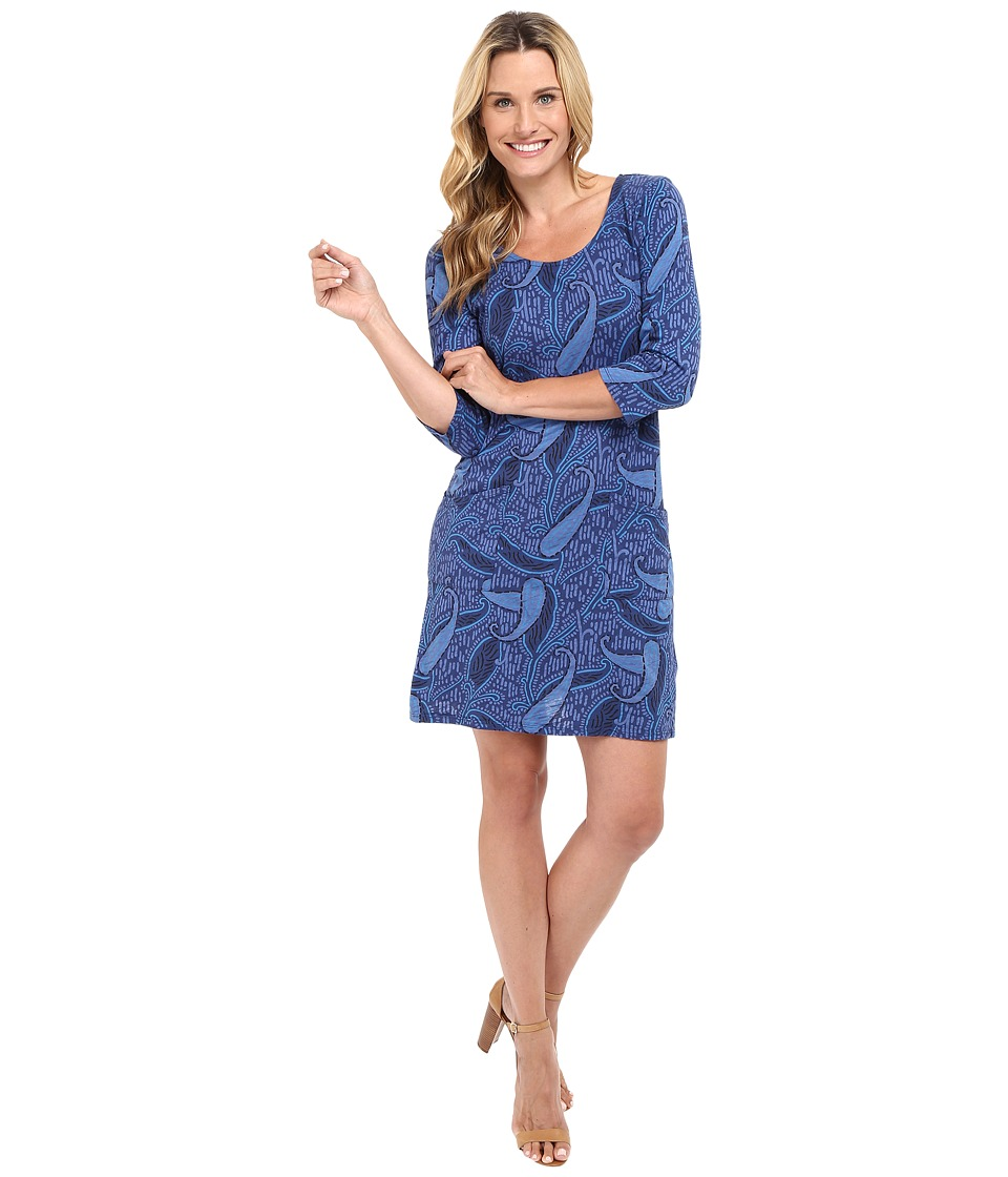 Fresh Produce - Paisley Dalia Dress (Moonlight Blue) Women's Dress