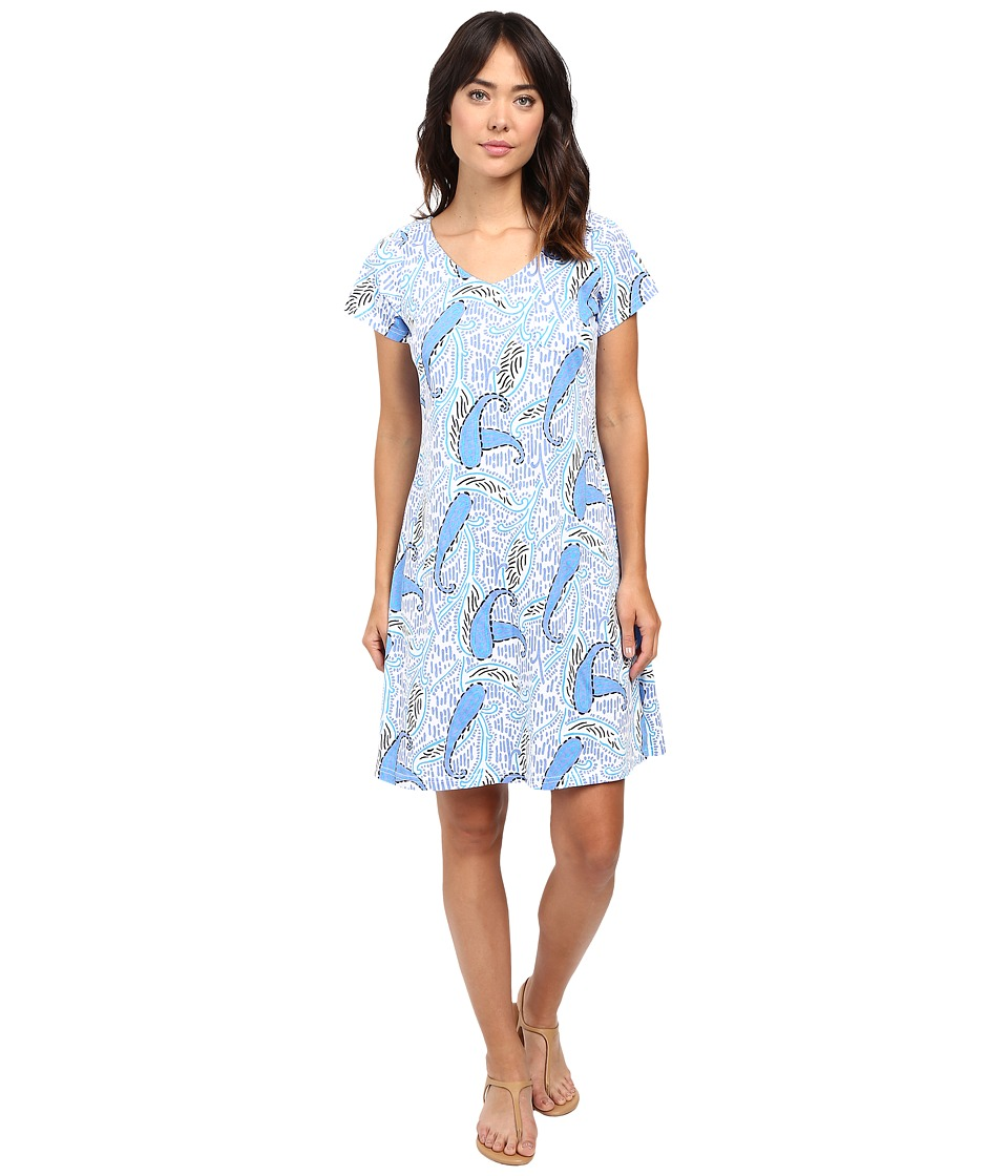 Fresh Produce - Paisley Sydney Dress (White) Women's Dress