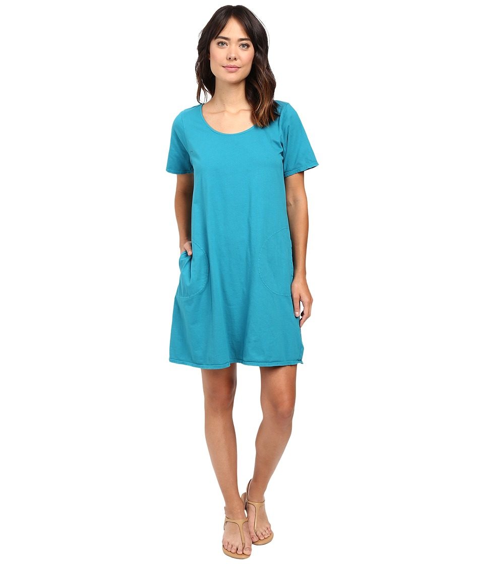 Fresh Produce - Allure T-Shirt Dress (Teal) Women's Dress