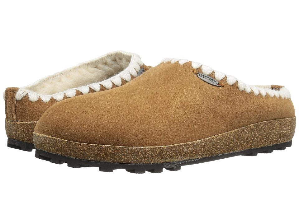 Giesswein - Baxter (Camel) Women's Slippers
