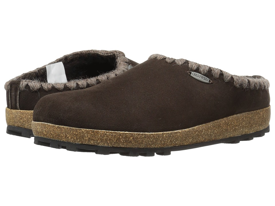 Giesswein - Baxter (Dark Brown) Women's Slippers
