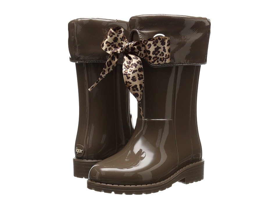 Igor - W10145 (Toddler/Little Kid/Big Kid) (Taupe) Girl's Shoes