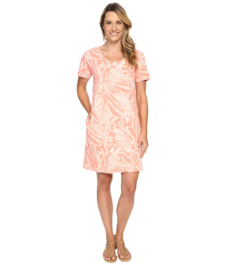 Fresh Produce - Cancun Allure T-Shirt Dress (Melon Sherbet) Women's Dress