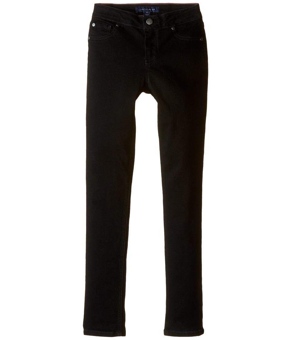 Tommy Hilfiger Kids - Five-Pocket Jeggings in Black (Little Kids) (Black) Girl's Jeans