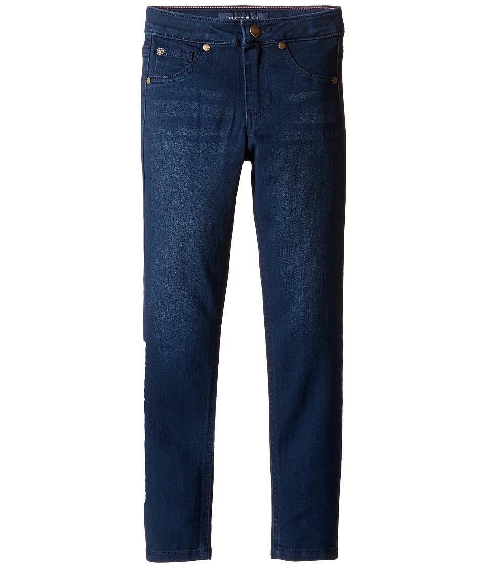 Tommy Hilfiger Kids - Five-Pocket Jeggings in Indigo (Little Kids) (Indigo) Girl's Jeans