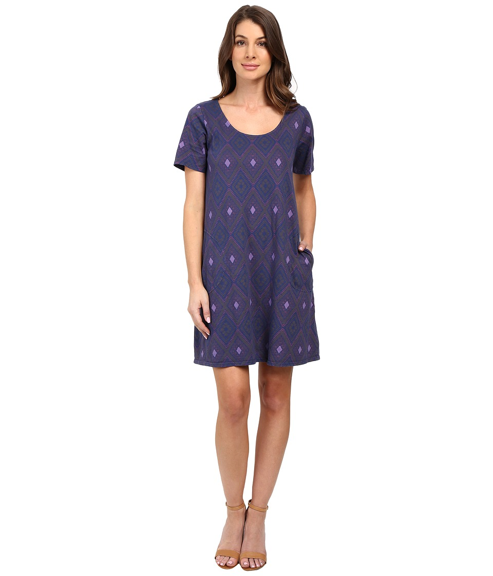 Fresh Produce - Diamonds Allure T-Shirt Dress (Moonlight Blue) Women's Dress