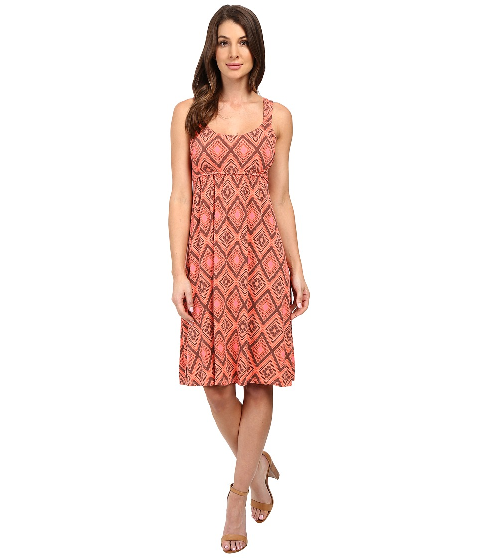 Fresh Produce - Diamonds Impromptu Dress (Melon Sherbet) Women's Dress