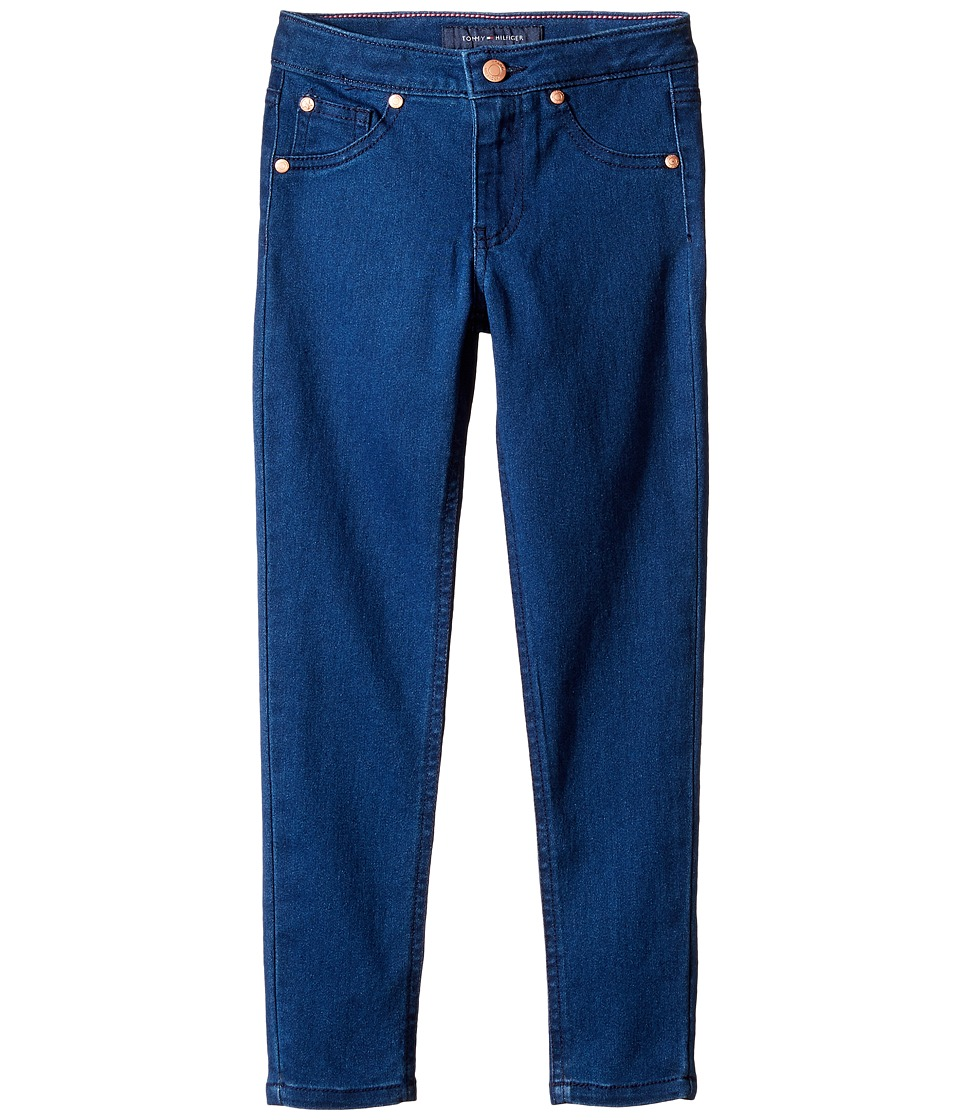 Tommy Hilfiger Kids - Five-Pocket Jeggings in Bright Indigo (Little Kids) (Bright Indigo) Girl's Jeans