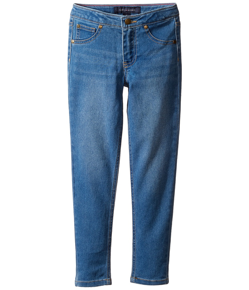 Tommy Hilfiger Kids - Five-Pocket Jeggings in Medium Blue (Little Kids) (Medium Blue) Girl's Jeans