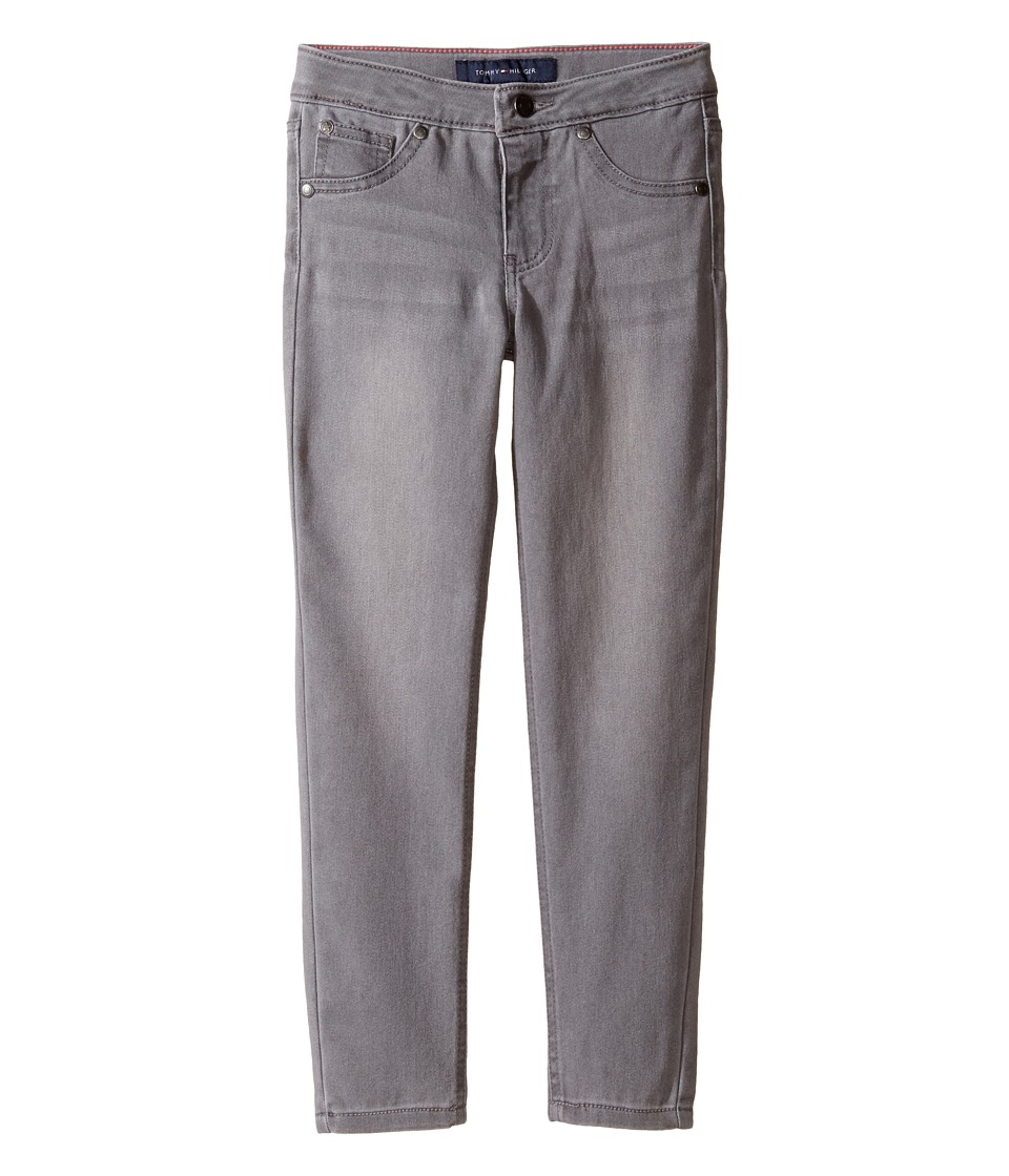 Tommy Hilfiger Kids - Five-Pocket Jeggings in Grey Wash (Little Kids) (Grey Wash) Girl's Jeans