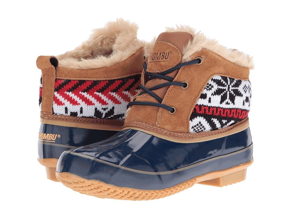 Khombu - Jazzy (Tan/Navy) Women's Boots