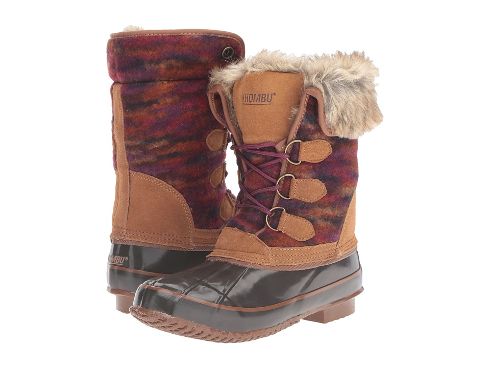Khombu - Julliard (Brown) Women's Boots