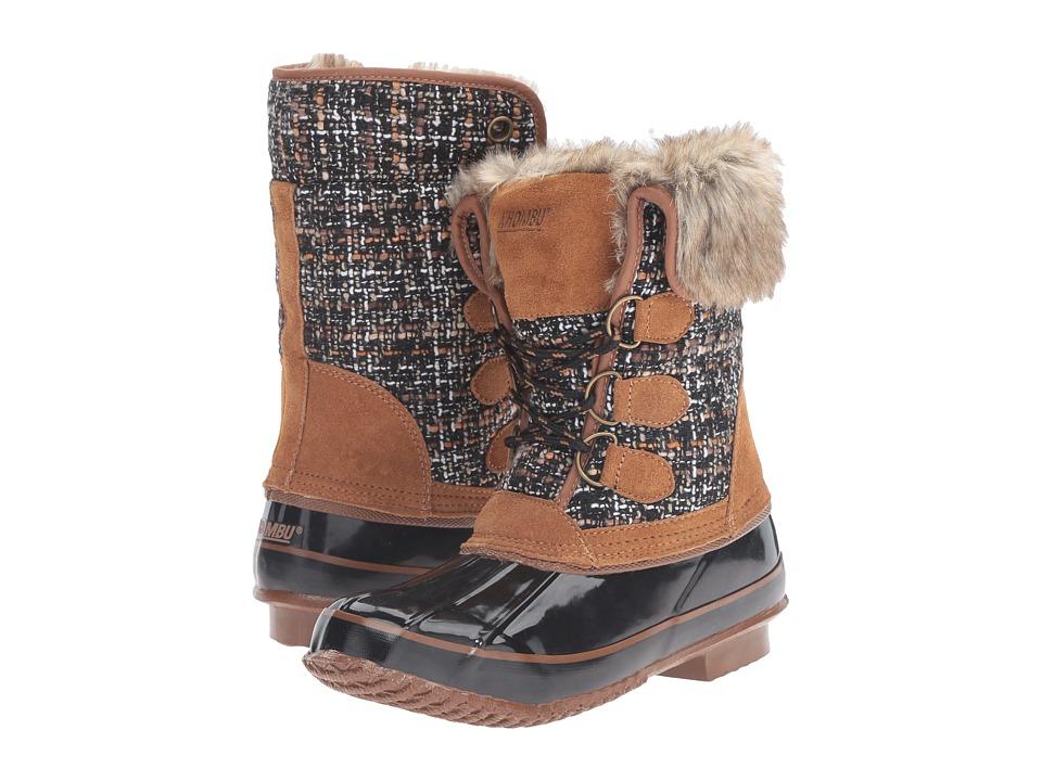 Khombu - Julliard (Tan/Black) Women's Boots
