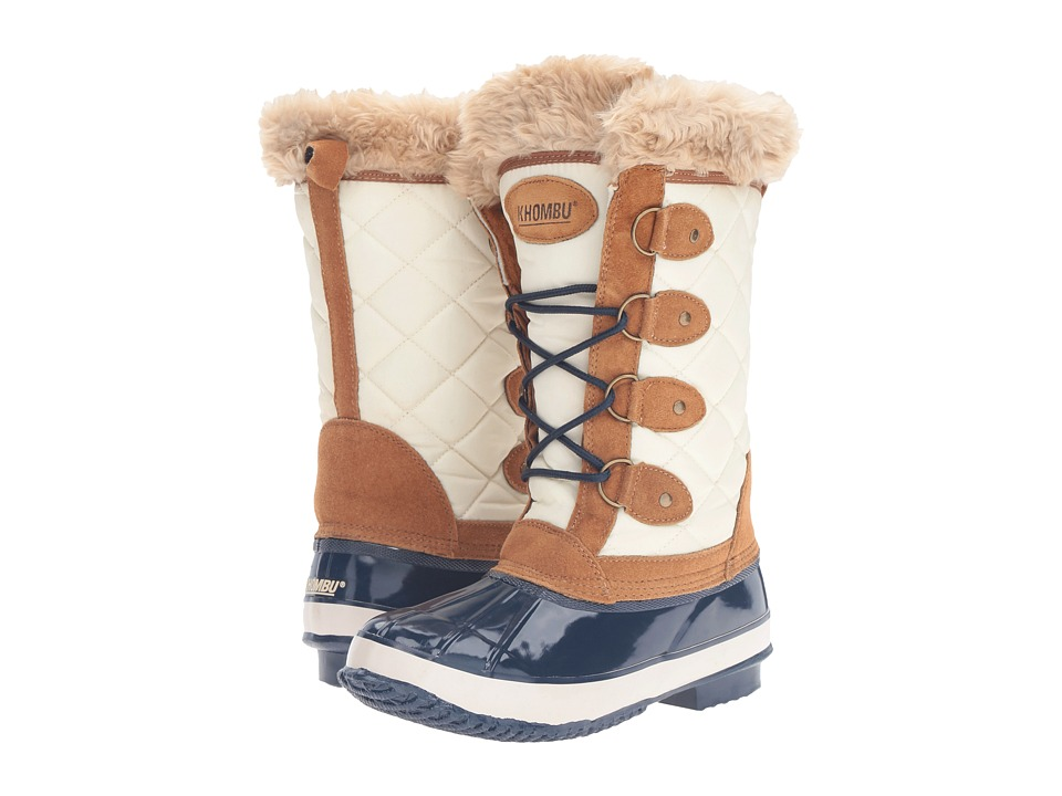 Khombu Andie (Tan/Navy) Women