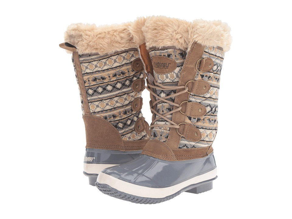 Khombu - Andie (Grey) Women's Boots