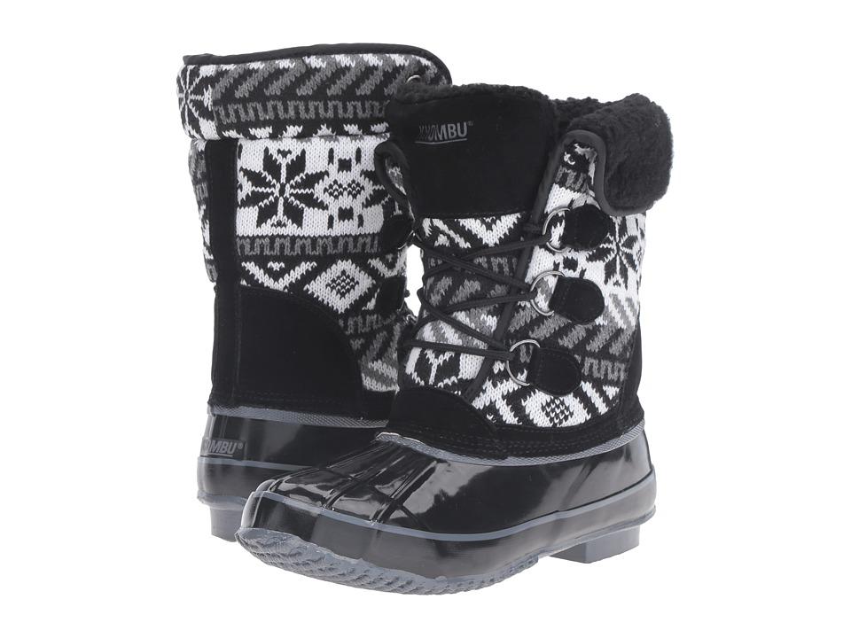 Khombu - Mayana (Black) Women's Boots