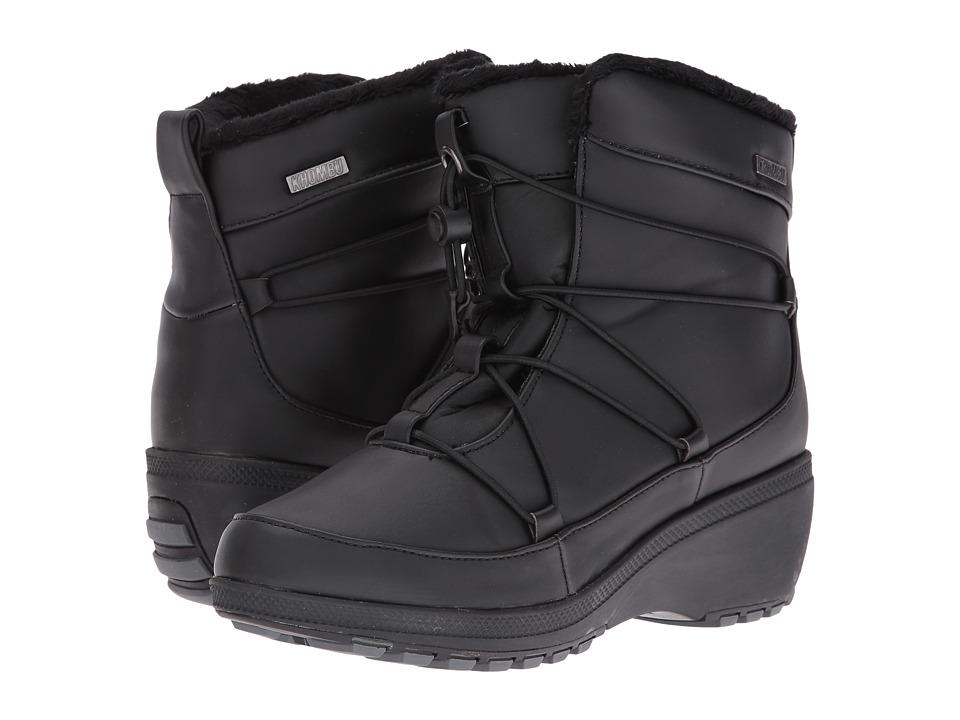 Khombu - Ashlyn (Black) Women's Boots