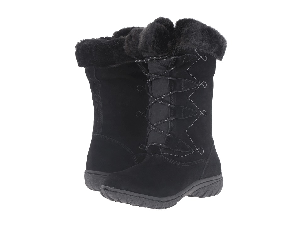 Khombu - Meghan (Black) Women's Boots