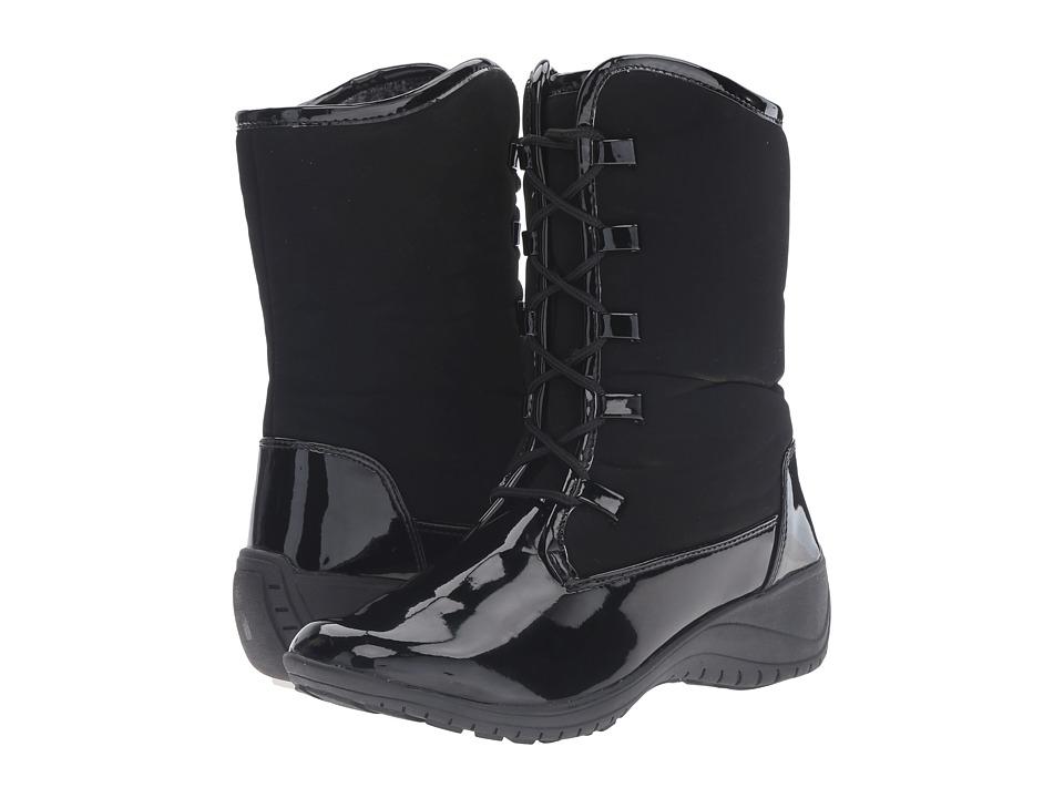 Khombu - Alexandra (Black Patent) Women's Boots