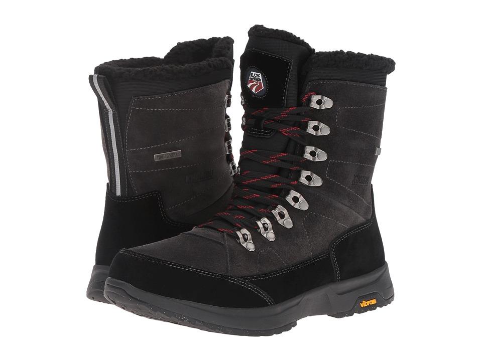 Khombu - Eavar Vibram (Black) Men's Boots
