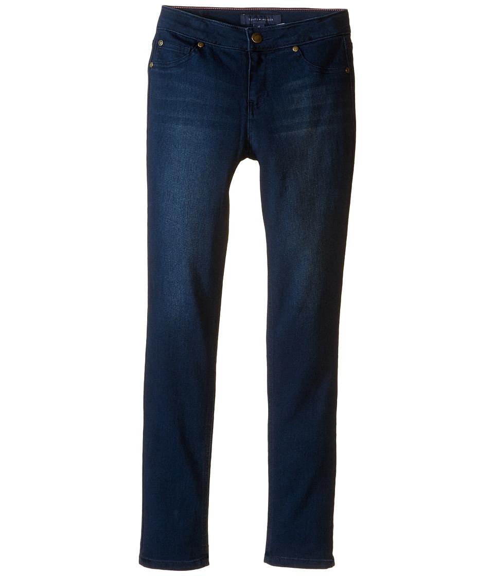 Tommy Hilfiger Kids - Five-Pocket Jeggings in Indigo (Little Kids/Big Kids) (Indigo) Girl's Jeans