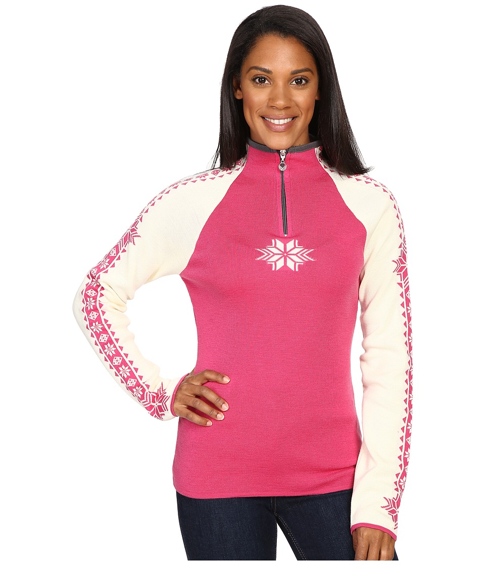 Dale of Norway - Geilo Feminine (Allium/Off-White) Women's Sweater
