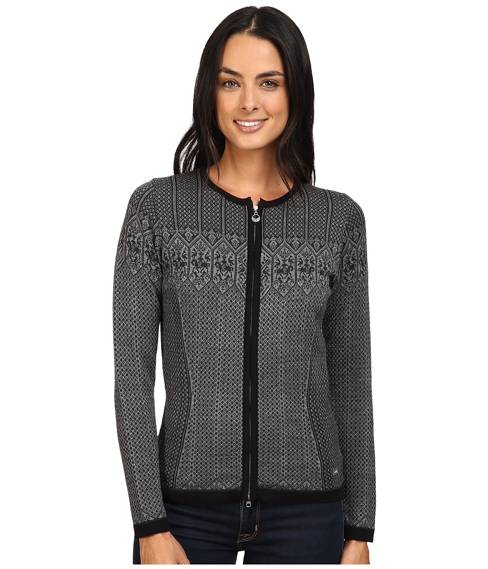Dale of Norway - Sigrid Feminine (Black/Dark Charcoal) Women's Sweater