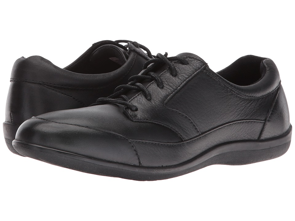 Revere - Orlando (Black Stretch) Women's Lace up casual Shoes
