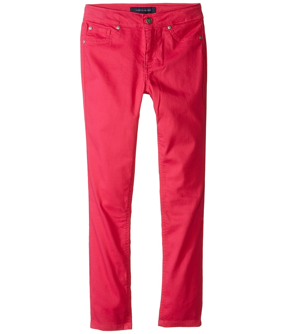 Tommy Hilfiger Kids - Five-Pocket Stretch Sateen in Lollipop (Little Kids/Big Kids) (Lollipop) Girl's Jeans