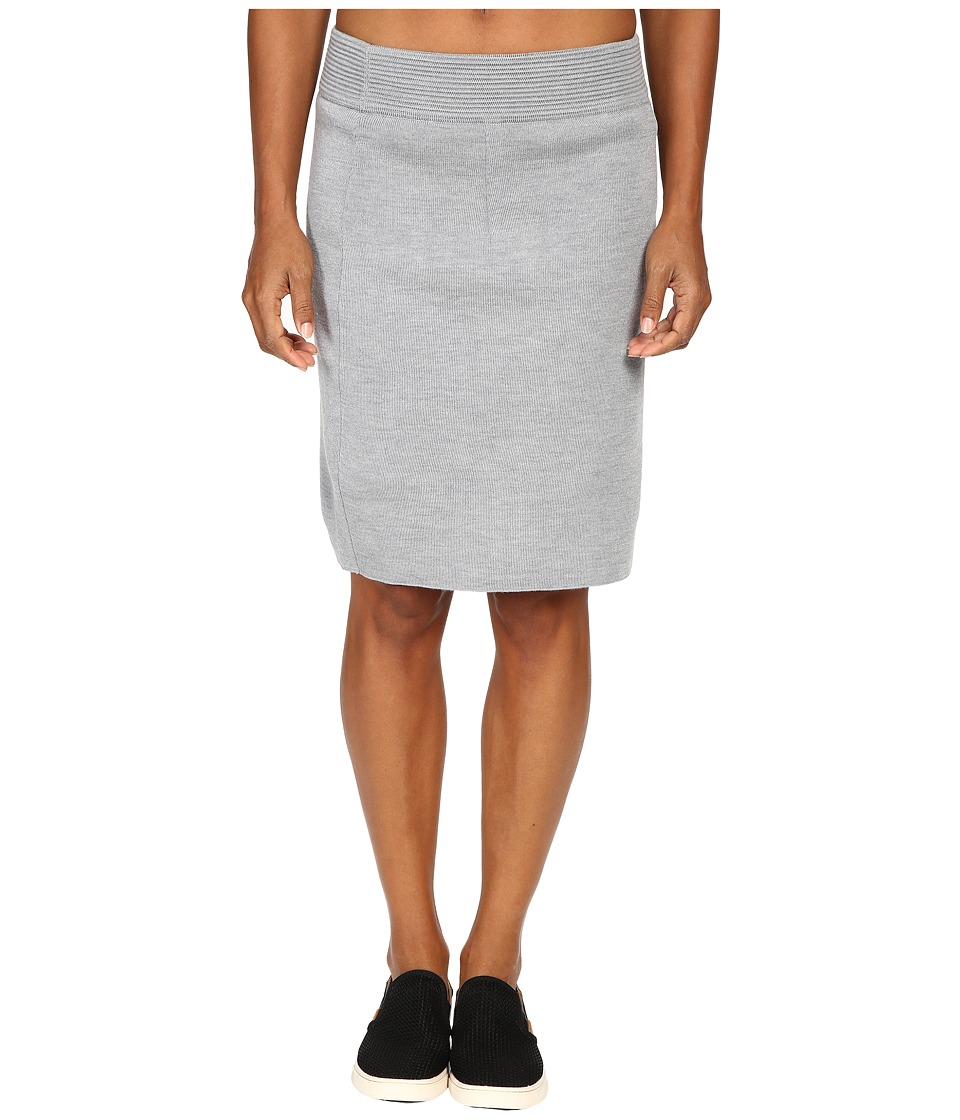 Dale of Norway - Knit Skirt (Grey Melange) Women's Skirt