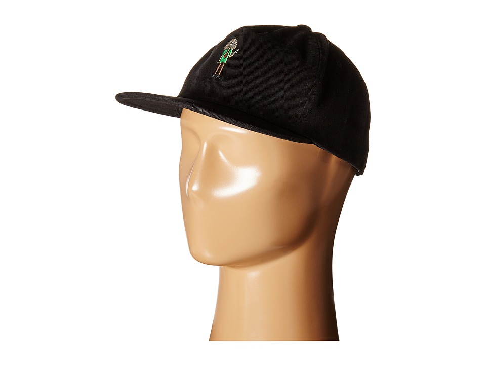 Lakai - Workaholics Relaxed Hat (Black) Caps