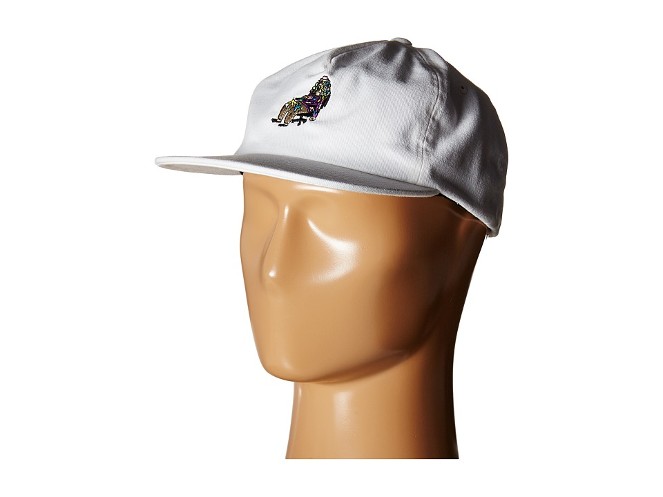 Lakai - Workaholics Relaxed Hat (White) Caps