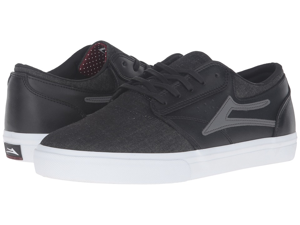 Lakai - Griffin X Workaholics (Business Casual Leather) Men's Skate Shoes