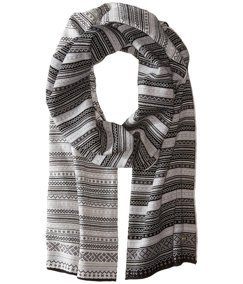 Dale of Norway - Vinje Scarf (Black/Off-White) Scarves