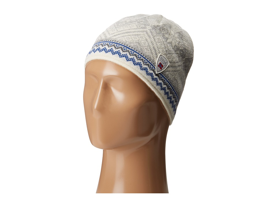 Dale of Norway - Glittertind Hat (Off-White/Cobalt) Caps