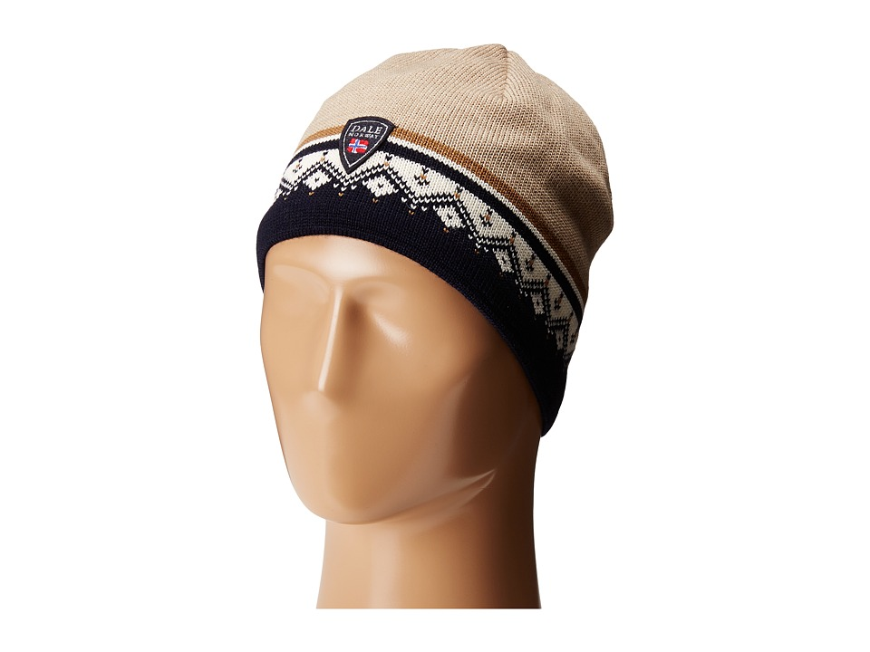 Dale of Norway - St. Moritz Hat (Navy/Beige) Caps
