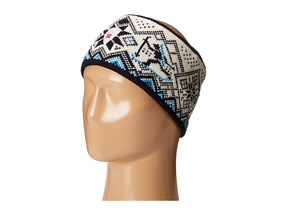 Dale of Norway - Skiskytter Biathlon Headband (Navy/Off-White) Headband