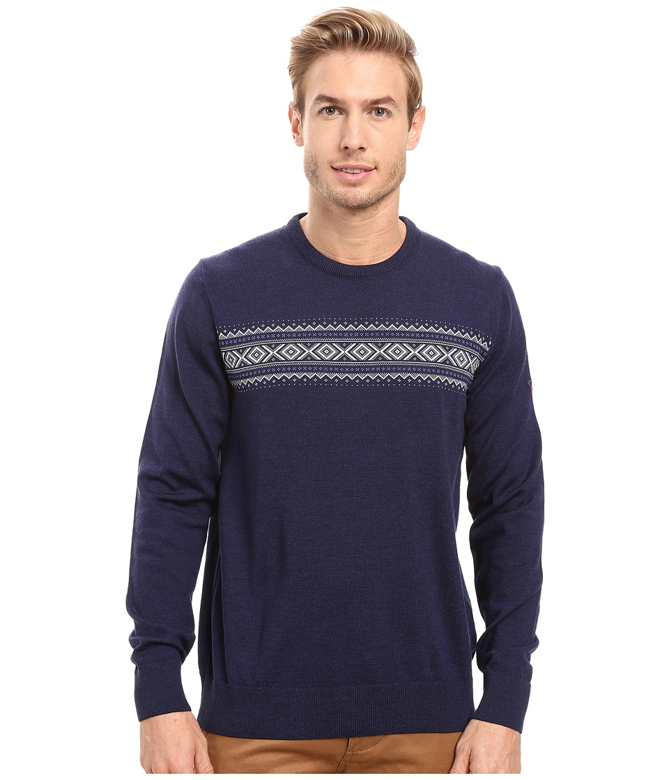 Dale of Norway - Sverre Sweater (Navy/Off-White) Men's Sweater