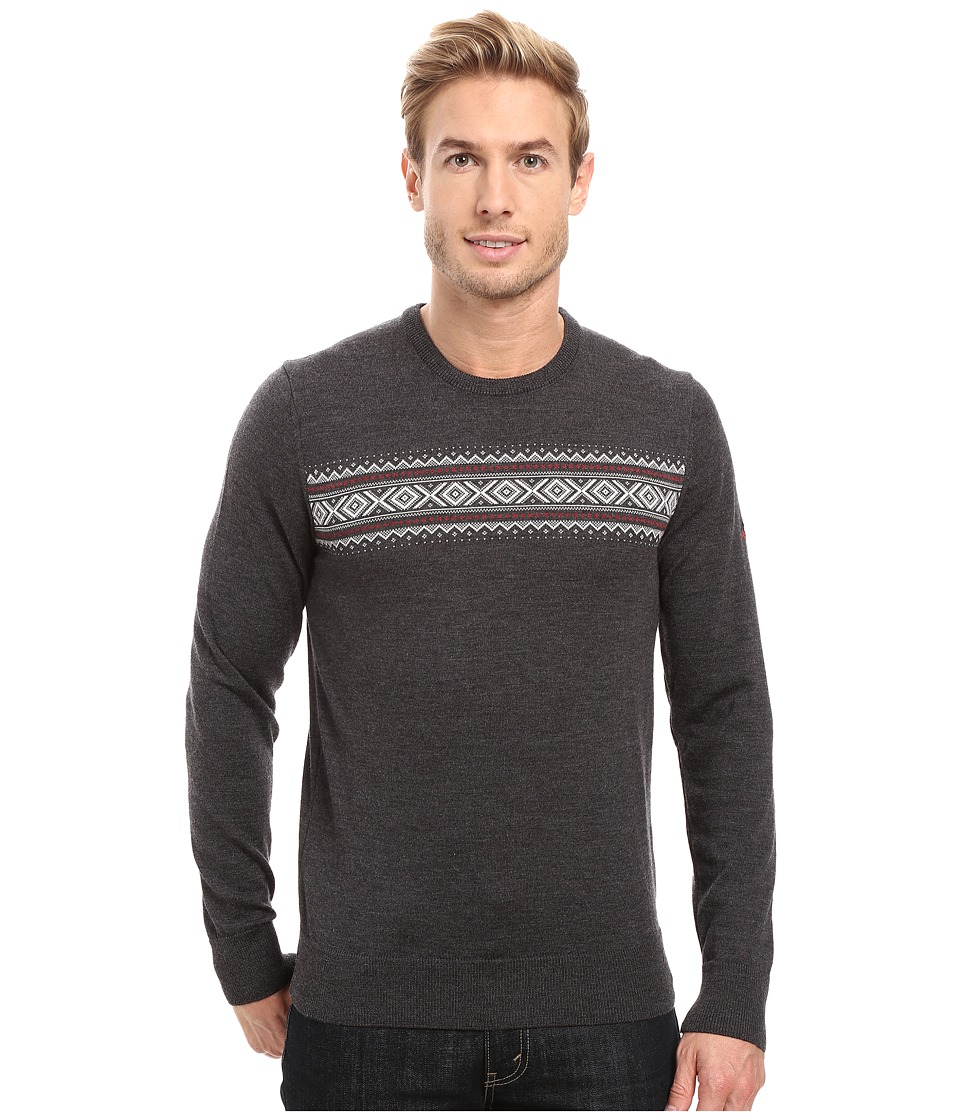 Dale of Norway - Sverre Sweater (Dark Grey/Off-White) Men's Sweater