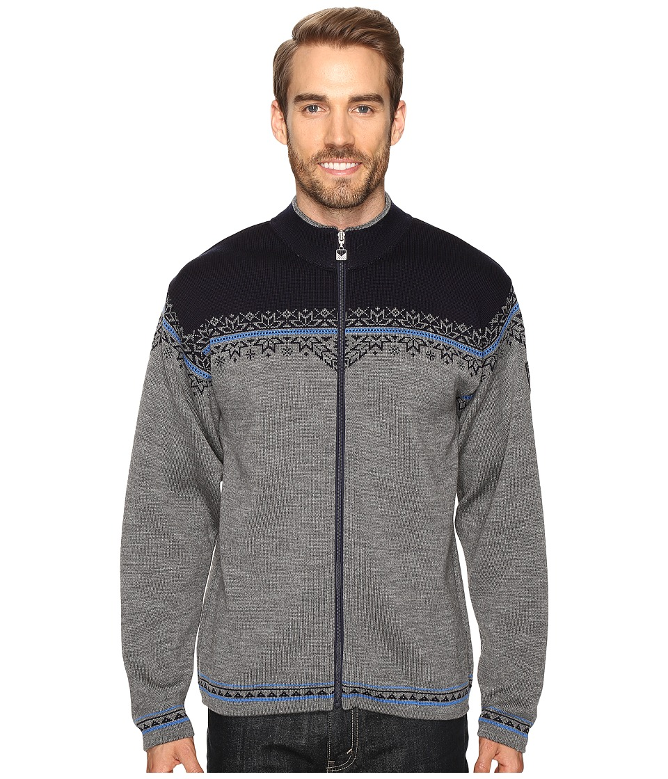 Dale of Norway - Nordlys Masculine (Smoke/Cobalt) Men's Sweater