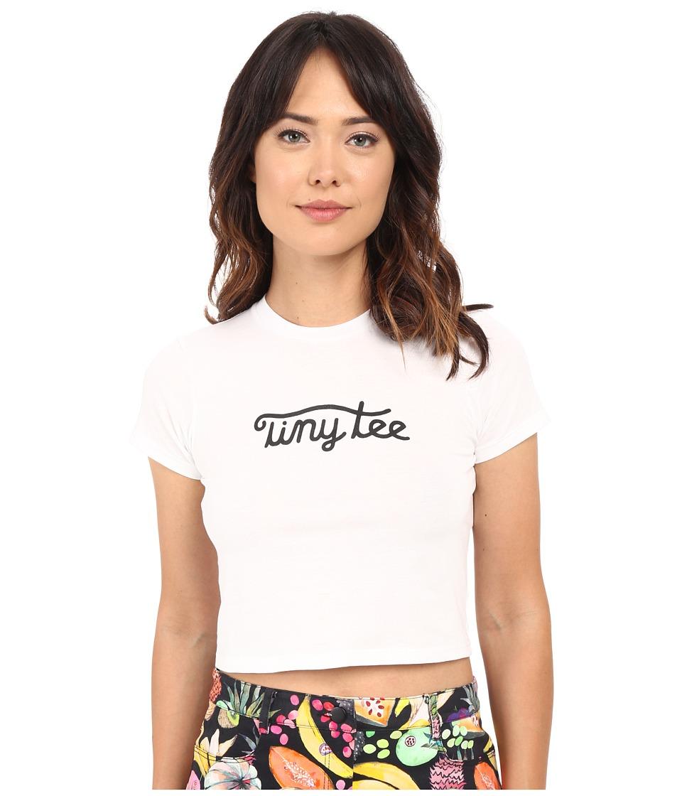 Rachel Antonoff - Tiny Tee (White) Women's T Shirt