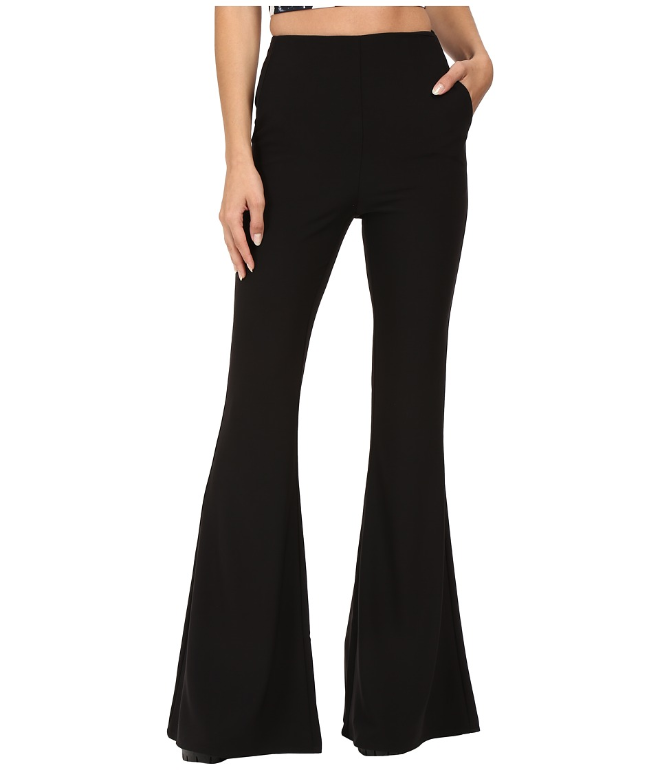 StyleStalker - Hara Pants (Noir) Women's Casual Pants
