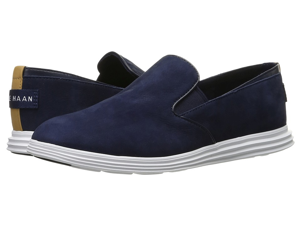 Cole Haan - Ella Grand 2 Gore Slip-On (Rainstorm Nubuck) Women