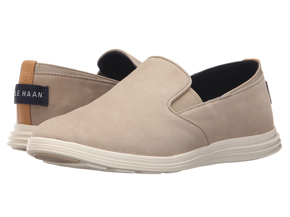 Cole Haan - Ella Grand 2 Gore Slip-On (Barley Nubuck) Women's Slip on Shoes